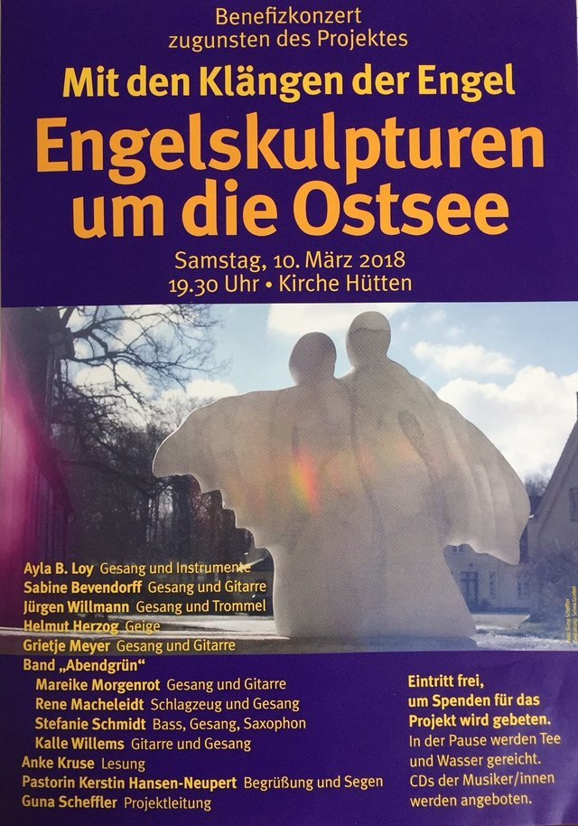 """""""Hütten: Benefizkonzert zugunsten der Engel Guna Schefflers"""""""