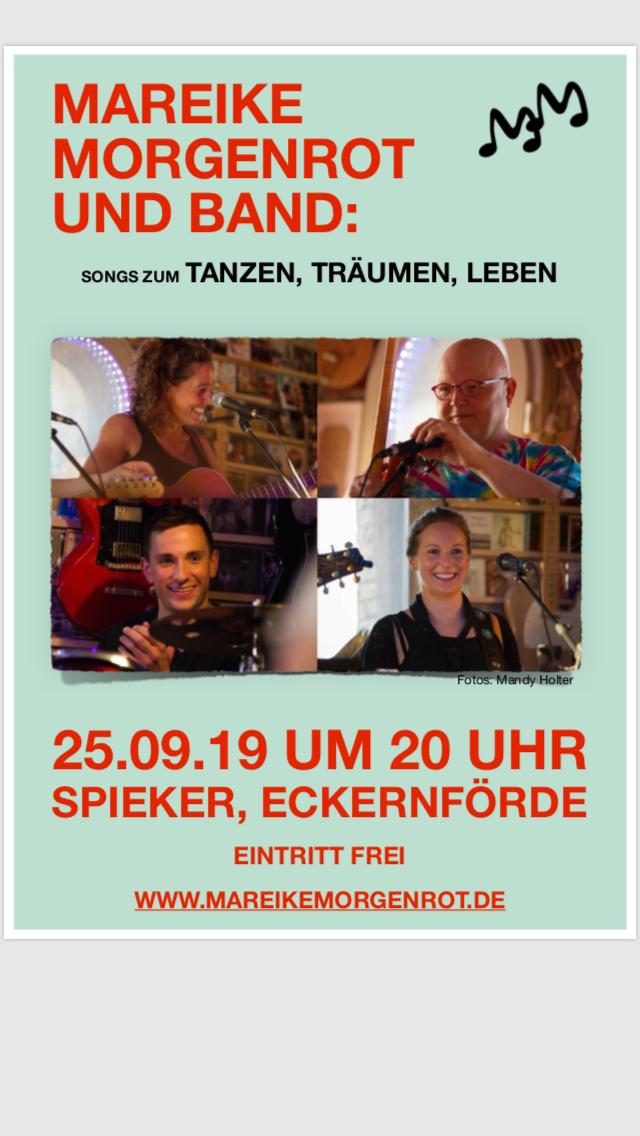 Tanzen, Träumen, Leben: Am 25.9.19 Konzert im Spieker