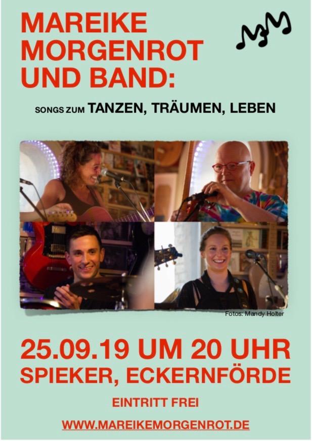 Plakat Spieker-Konzert 25.09.19