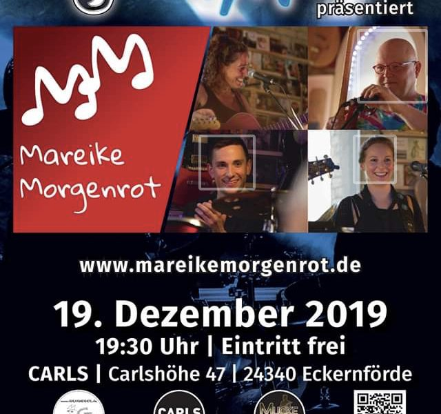 Jam Session im Carls mit Mareike Morgenrot